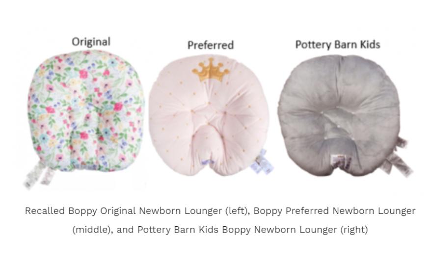 Boppy Recalls 3.3. Millions of baby pillows after the death of 8 infants