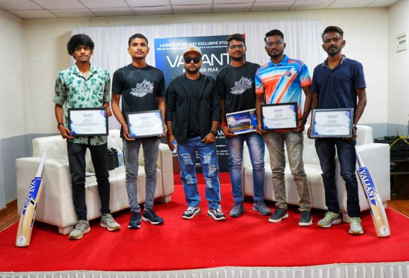 Valiant launched their new city brand ambassadors for Gujarat, Vipul Narigara was the chief guest.