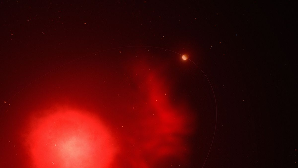 Astronomers have discovered a planet that survived a star explosion in its home